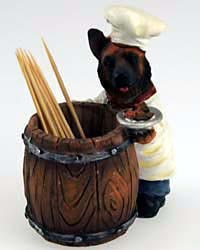 German Shepherd Toothpick Holder