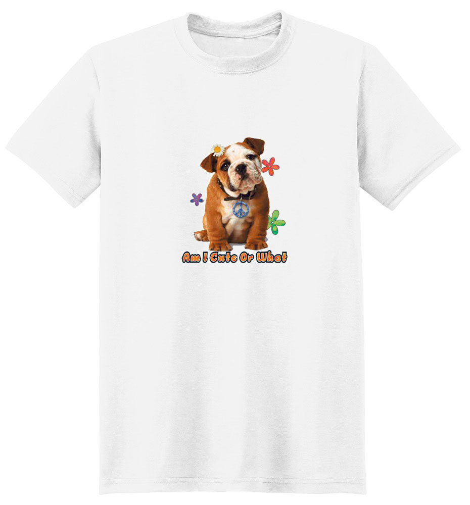 French Bulldog T-Shirt - Cute