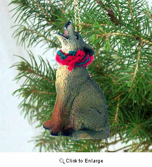 Coyote Tiny One Christmas Ornament
