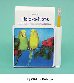 Budgie Hold-a-Note