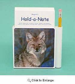 Coyote Hold-a-Note
