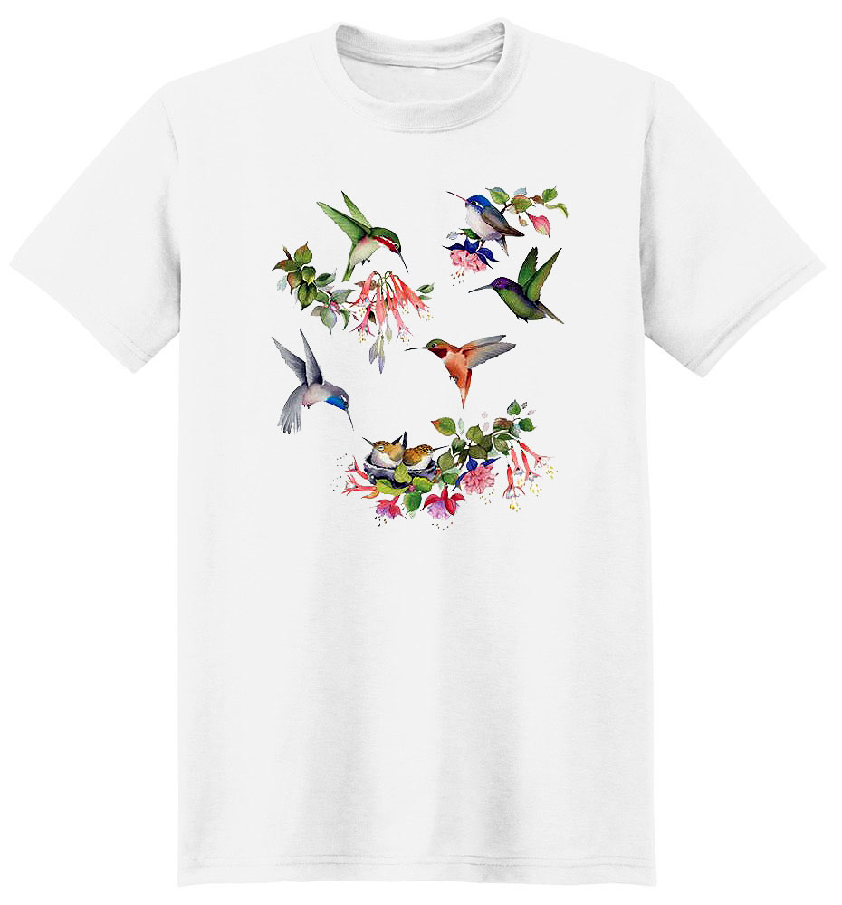 Hummingbird T Shirt Of North America