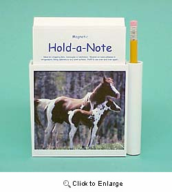Paint Horse Hold-a-Note
