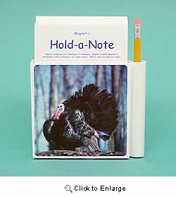 Turkey Hold-a-Note