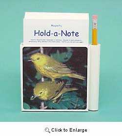 Warbler Hold-a-Note