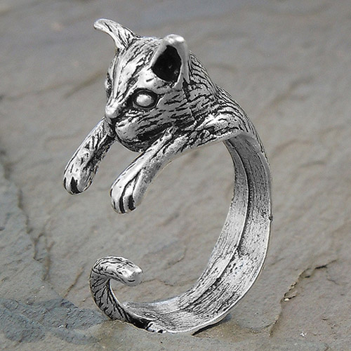Adjustable Wrap Cat Ring