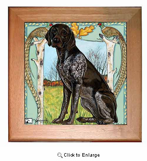 German Shorthaired Pointer Trivet