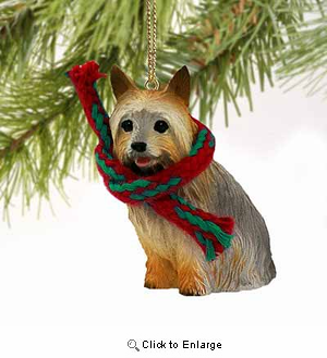 Silky Terrier Tiny One Christmas Ornament