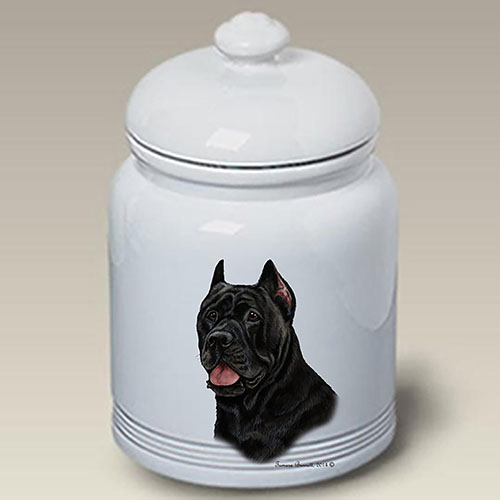 Cane Corso Treat Jar