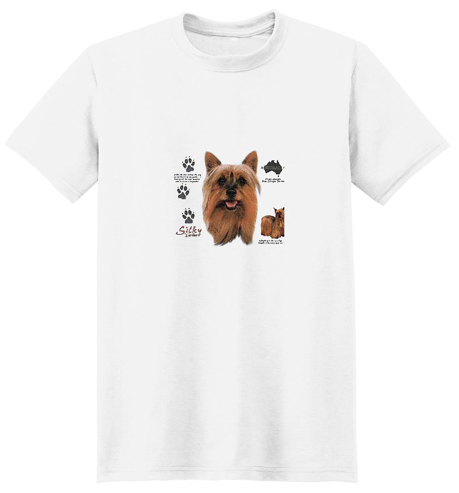 Silky Terrier T-Shirt - History Collection