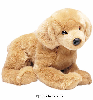 "Golden Retriever Plush Stuffed Animal ""Honey"" 23"""