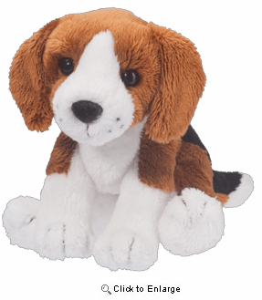 "Sniff Beagle 5"" Stuffed Plush Animal"