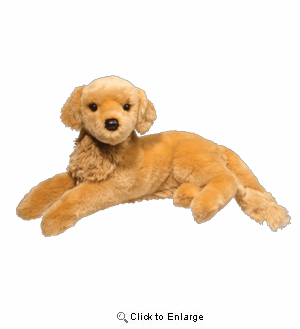 "Sophie Golden Retriever 15"" Stuffed Plush Animal"