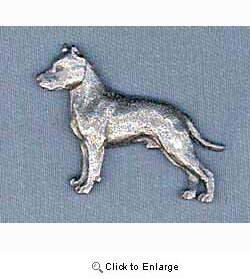 American Staffordshire Terrier Pin