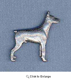 Doberman Pinscher Pin