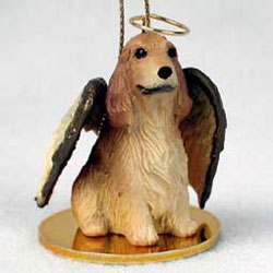 Cocker Spaniel Christmas Ornament Angel