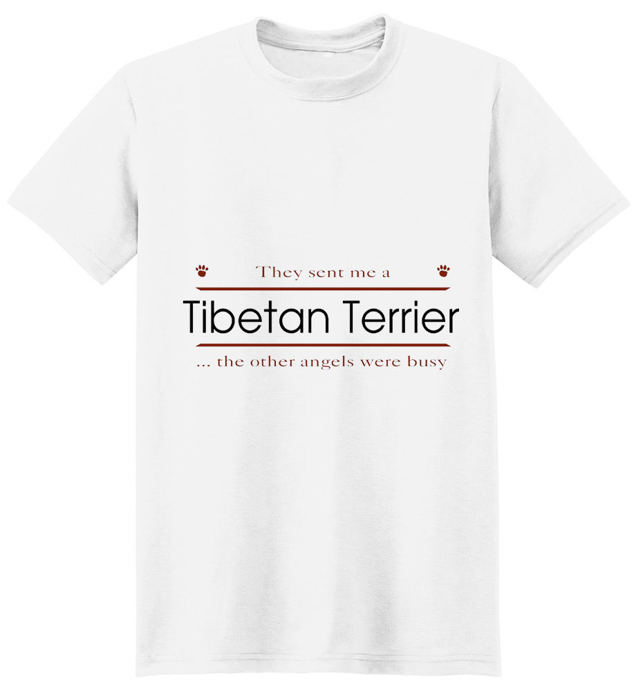 Tibetan Terrier T-Shirt - Other Angels