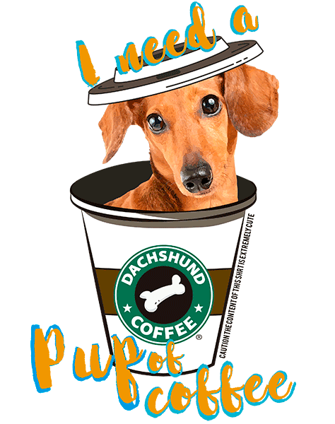 Dachshund T Shirt - Coffee Mug