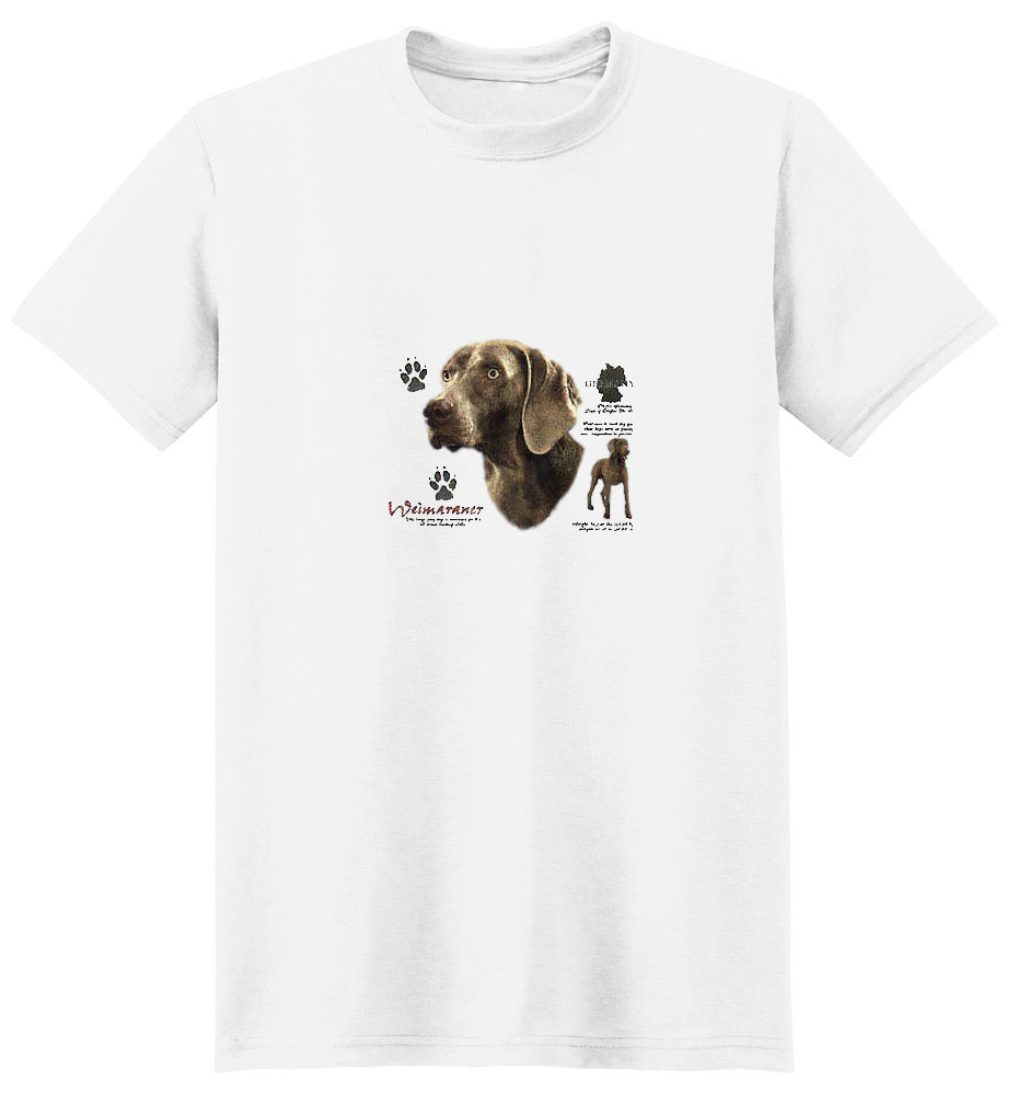 Weimaraner T-Shirt - History Collection