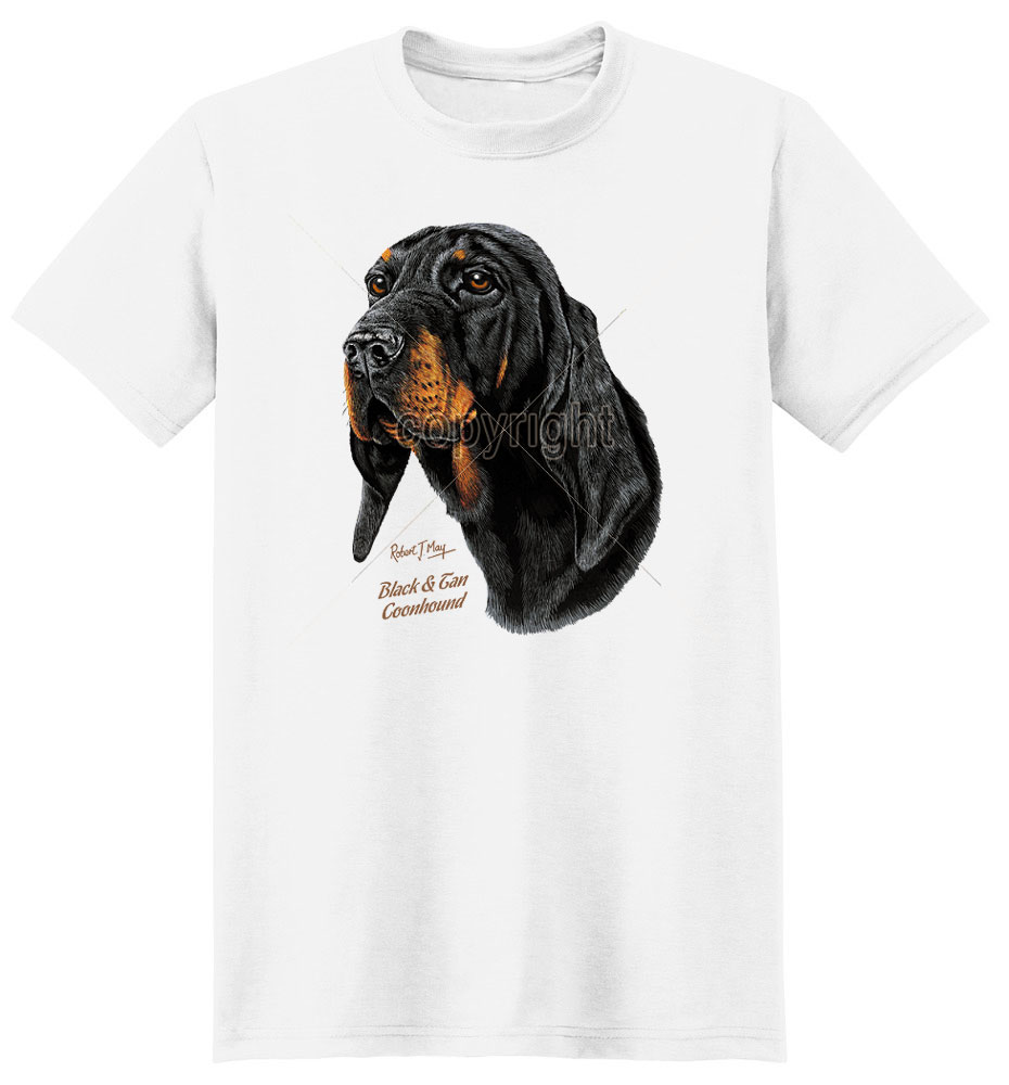 Coonhound T Shirt by Robert May