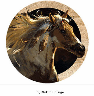 Paint Horse Drink Coasters