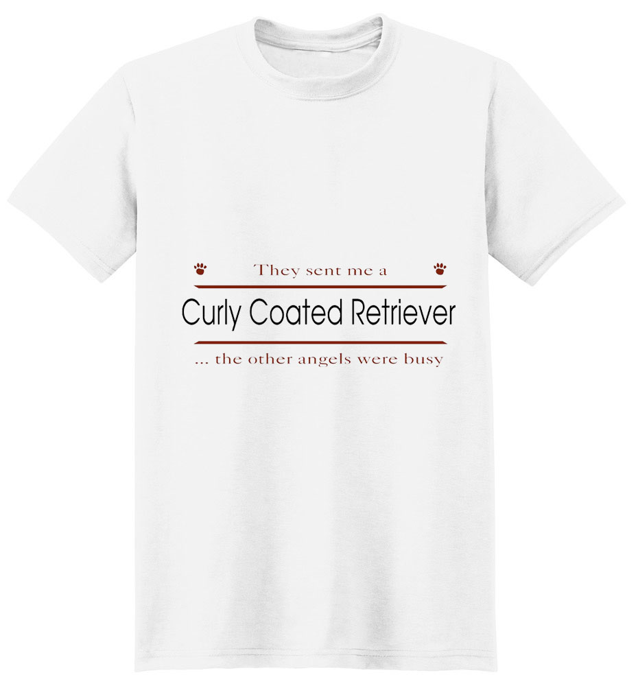 Curly Coated Retriever T-Shirt - Other Angels