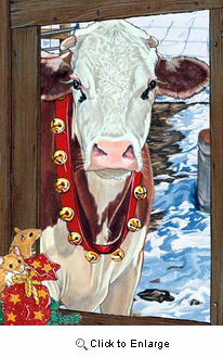 Guernsey Cow Christmas Cards