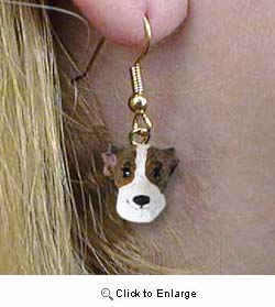 Whippet Authentic Earrings