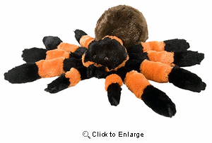 Tarantula Cuddlekins Plush Animal 14""