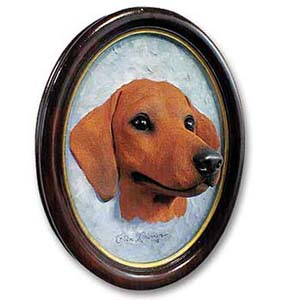 Dachshund Sculptured Portrait