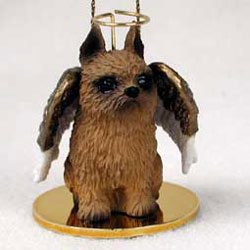Brussels Griffon Christmas Ornament Angel