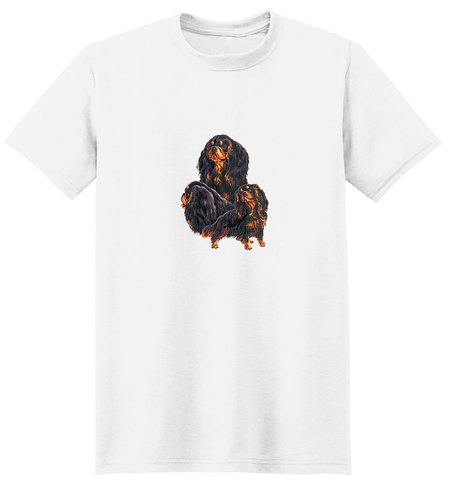 English Toy Spaniel T-Shirt - Collage
