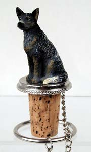 Australian Cattle Dog Bottle Stopper