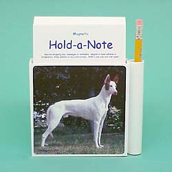 Ibizan Hound Hold-a-Note