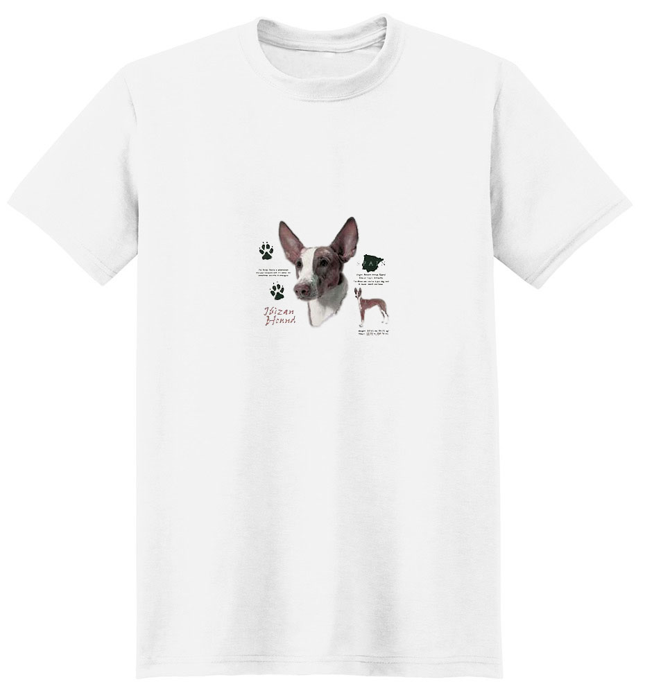 Ibizan Hound T-Shirt - History Collection