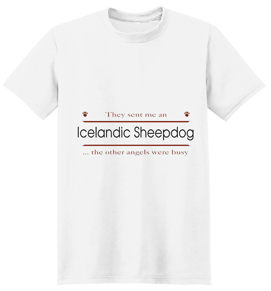 Icelandic Sheepdog T-Shirt - Other Angels