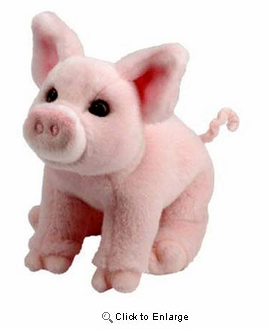 Pink Pig Plush Stuffed Animal