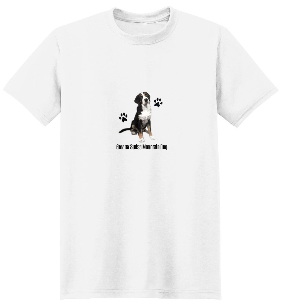 Greater Swiss Mountain Dog T-Shirt - Profiles