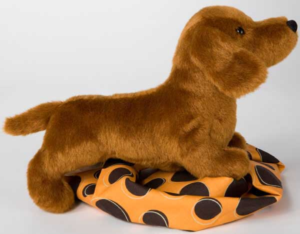Dachshund Plush Stuffed Animal 8 Inch