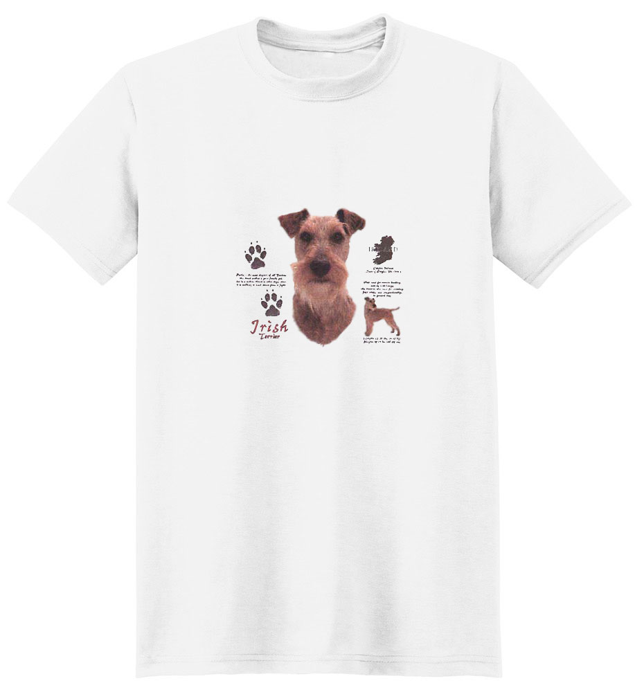 Irish Terrier T-Shirt - History Collection