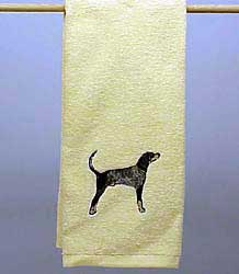 Coonhound Hand Towel
