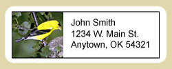 Finch Address Labels