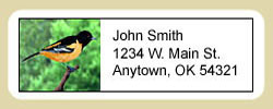 Oriole Address Labels