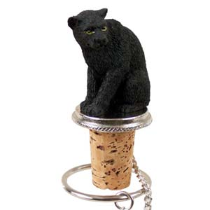 Panther Bottle Stopper