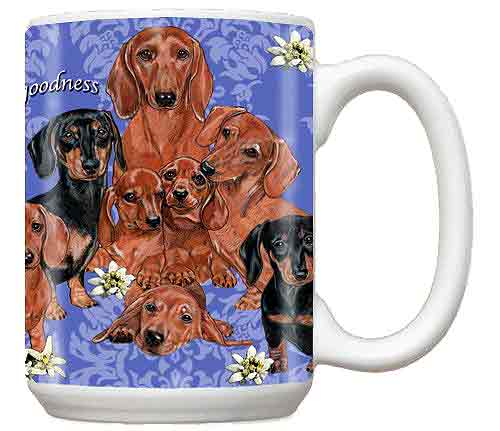 Dachshund Many Dogs Coffee Mug