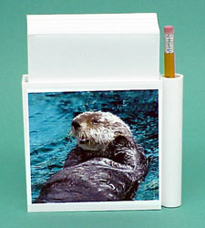 Sea Otter Hold-a-Note