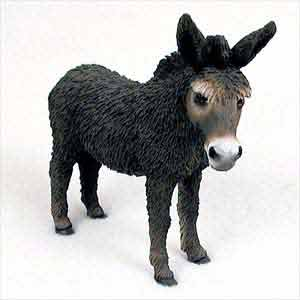 Donkey Figurine Brown