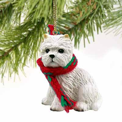 West Highland Terrier Tiny One Christmas Ornament