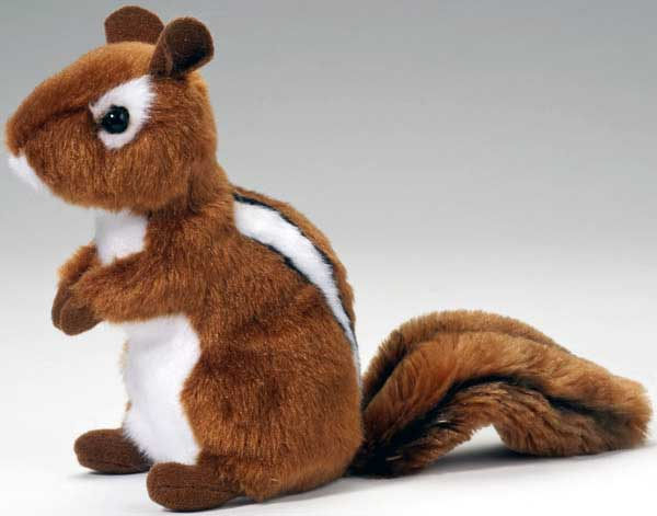 Chipmunk Plush Stuffed Animal 6 Inch