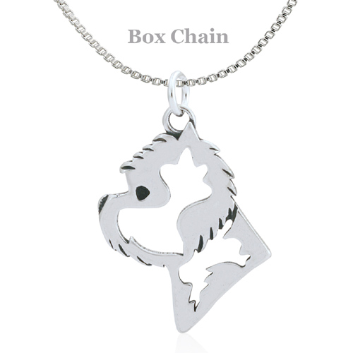 Sterling Silver West Highland Terrier Necklace